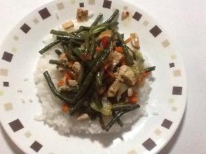 Chicken Stir Fry With Snake Beans Prepared By A Twitter Friend
